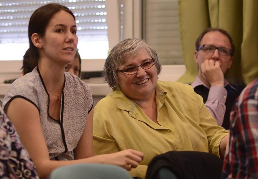 Participants at ÉFOÉSZ's self-advocacy conference