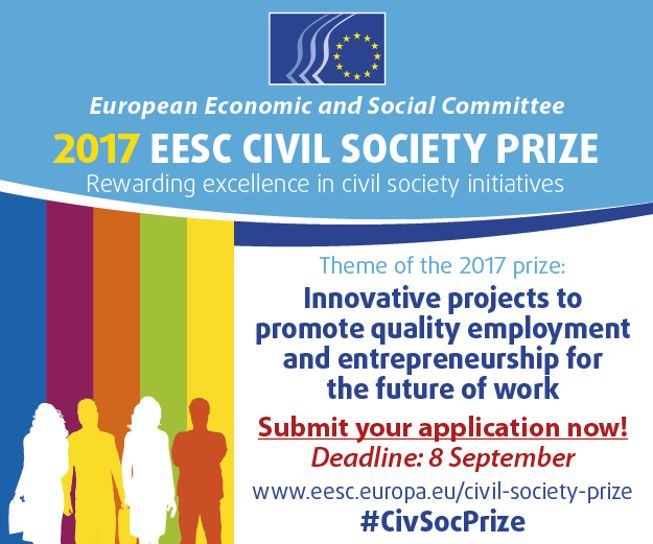 Civil Society Prize banner