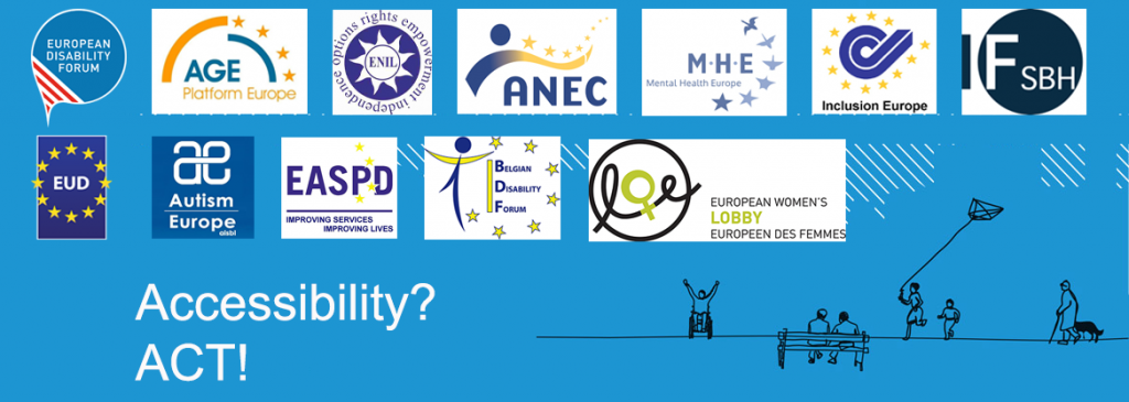 Banner with all participating organisations