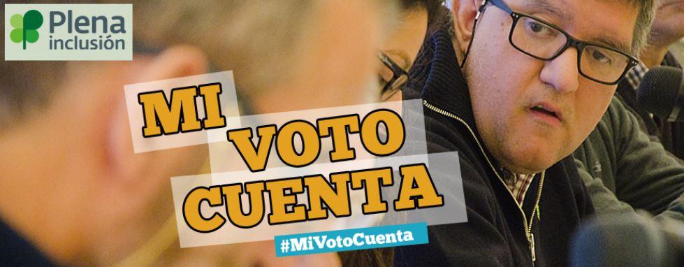Mi Voto Cuenta. Picture of the website www.mivotocuenta.es.